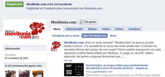 Facebook se 'moviliza', pero sin smartphone propio