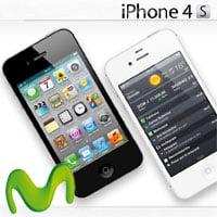 Precios del iPhone 4S con movistar