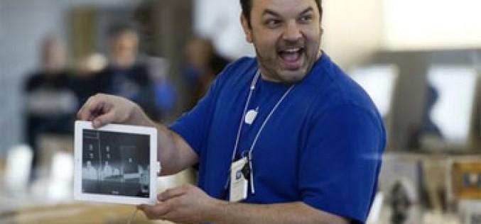 Apple prestará iPads a los empleados de sus tiendas