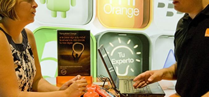 El servicio 'Orange en persona' arranca en 26 tiendas