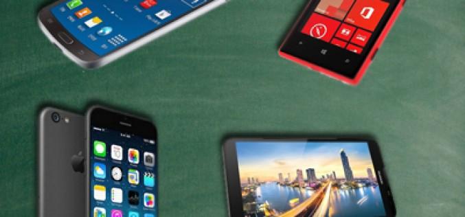 Los smartphones más esperados del momento