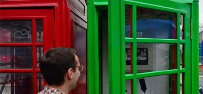 Las cabinas telefónicas de Londres también cargan móviles