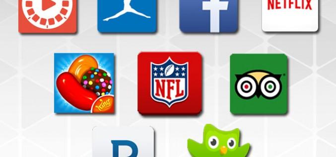 Las apps más descargadas en Google play en 2014