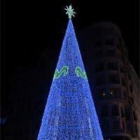 árbol de Navidad de Movistar