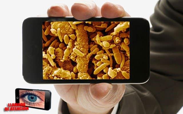 [Llamada de atención]: En la actualidad, pocas personas son conscientes del contacto que tenemos con numerosas bacterias a través de nuestro smartphone.