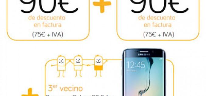 Jazztel 'regala' el Samsung Galaxy S6 Edge
