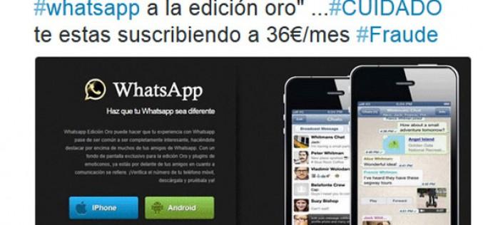 Los timos más comunes en WhatsApp
