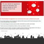 promoción de Nochevieja de Vodafone