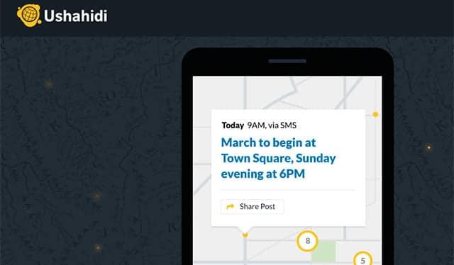 App Ushahidi