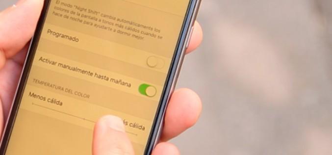 VÍDEO: Cómo activar la función Night Shift en iOS 9.3