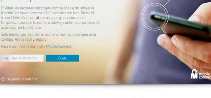 Mobile Connect, nuevo servicio de Movistar, Orange y Vodafone para unificar las contraseñas