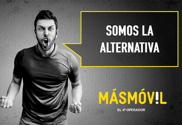 """Masmóvil se presenta como el nuevo """"cuarto operador""""."""