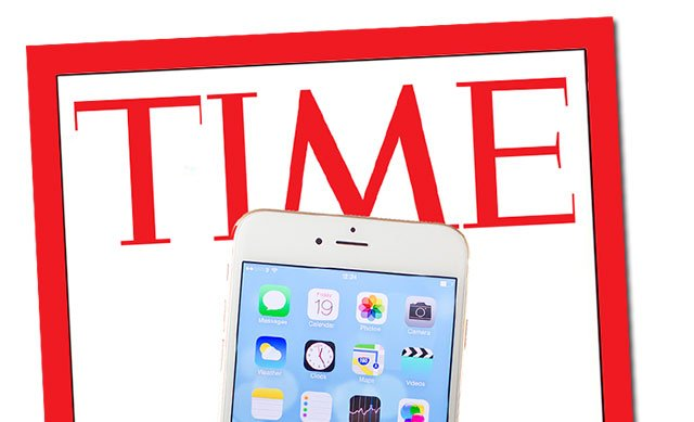 portada de Time con iPhone