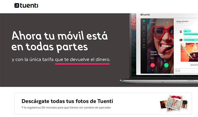 nueva marca Tuenti