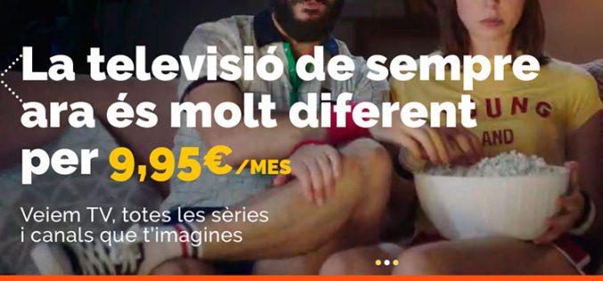 Parlem añade un paquete de 80 canales de TV desde 9,95 euros al mes