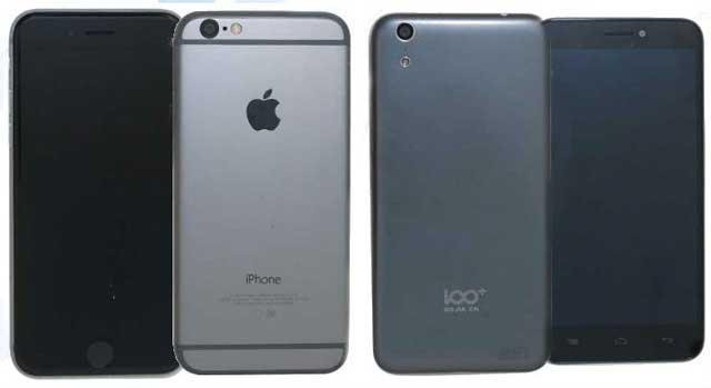 iPhone 6 vs Digione 100C