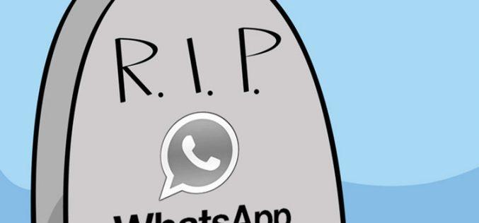 En qué smartphones dejará de funcionar WhatsApp a final de año