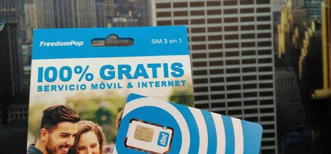 FreedomPop: todo lo que cambia tras el reemplazo de la tarjeta SIM