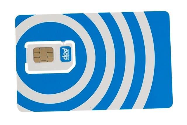 tarjeta SIM de FreedomPop