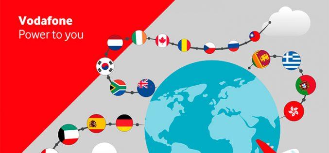 El roaming 4G de Vodafone alcanza ya los 100 países