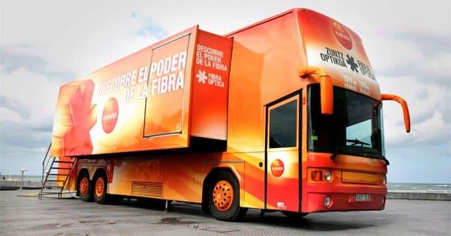 camión Euskaltel