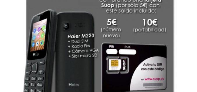 Suop y Tienda.movilonia.com lanzan el pack prepago más barato del mercado