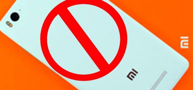Amazon veta los smartphones de Xiaomi