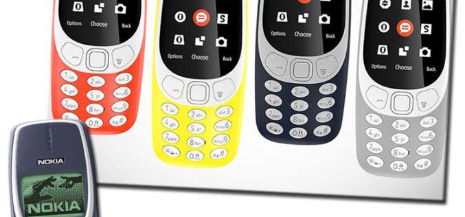 Nuevo Nokia 3310 de 2017: la reinvención del feature phone