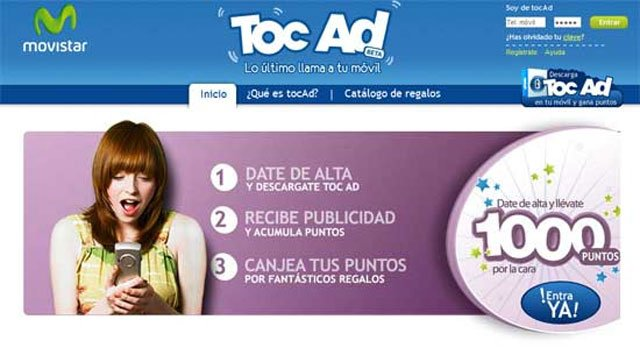 Toc Ad de Movistar
