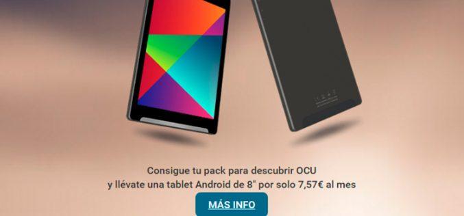 Así es el tablet que regala la Ocu