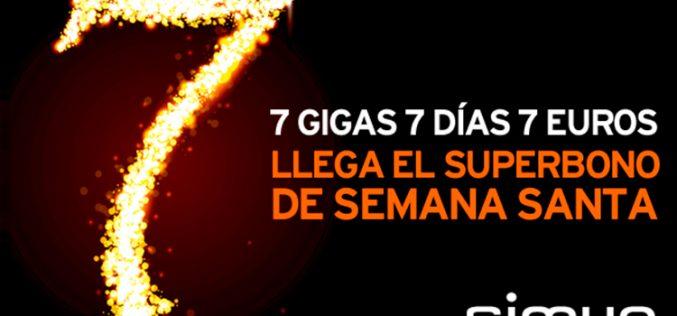 Simyo ofrece 7GB por 7 euros en Semana Santa