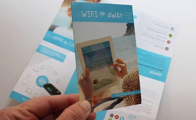 folleto de WifiAway