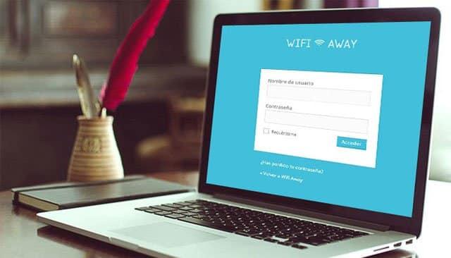 ordenador WifiAway