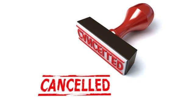 OMV cancelados