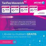 tarifa Jetnet Maverick de 5GB