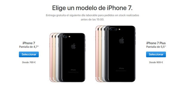 formas de comprar un iphone 7