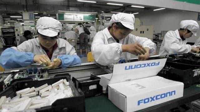fabricación de iPhone