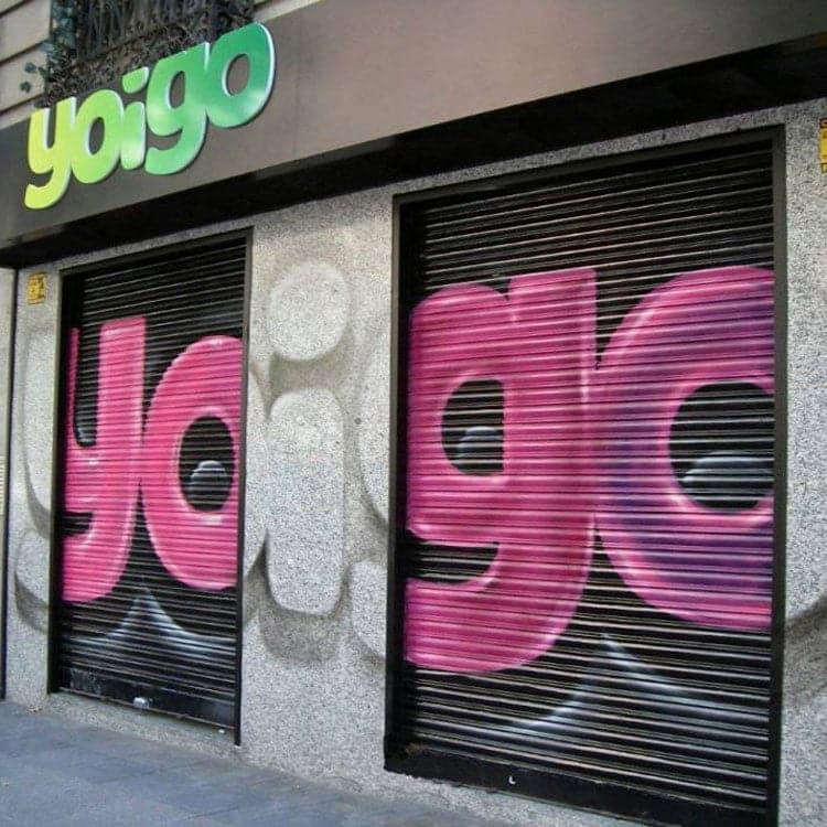 cierre de tiendas Yoigo