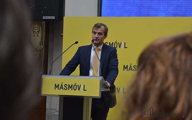 Meinrad Spenger, CEO de Masmóvil