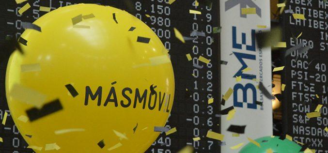 Masmóvil llega al Mercado Continuo