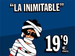 Con este vendaje no queda muy claro si Pepe ha sufrido algún accidente o quería disfrazarse de momia...