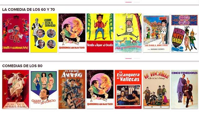 FlixOlé, cine español