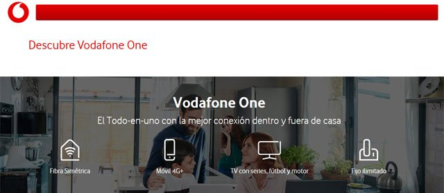 Vodafone One sin Ono