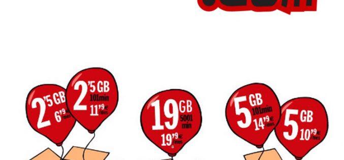 Pepephone simplifica sus tarifas móviles por su décimo cumpleaños