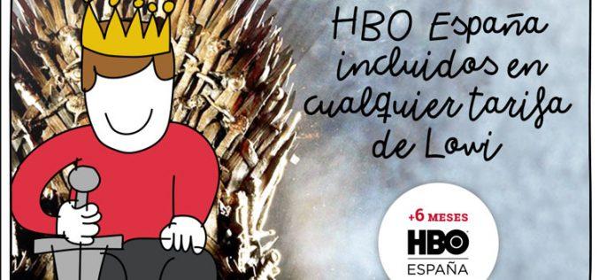 Lowi regala HBO España durante seis meses