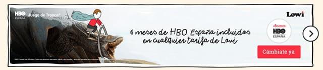 Lowi regala HBO España