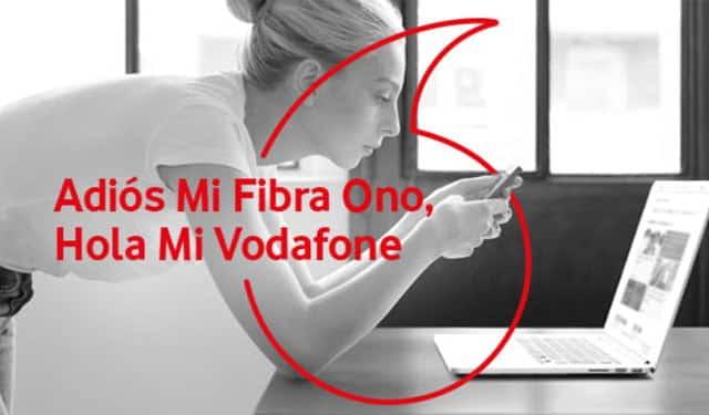 app Mi Fibra Ono ahora es Mi Vodafone