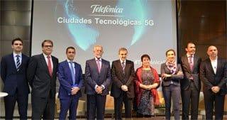 Ciudades tecnológicas 5G