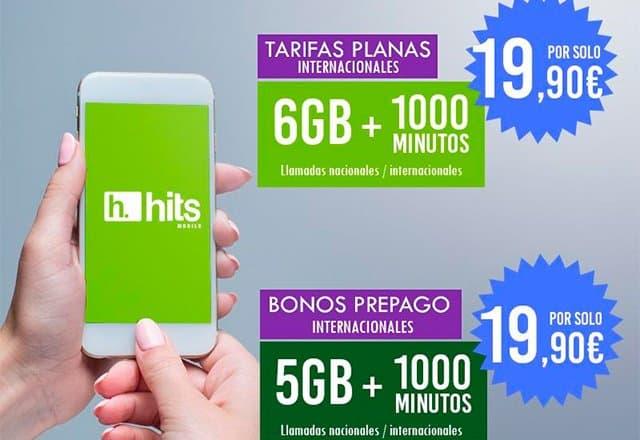 nuevas tarifas de Hits Mobile