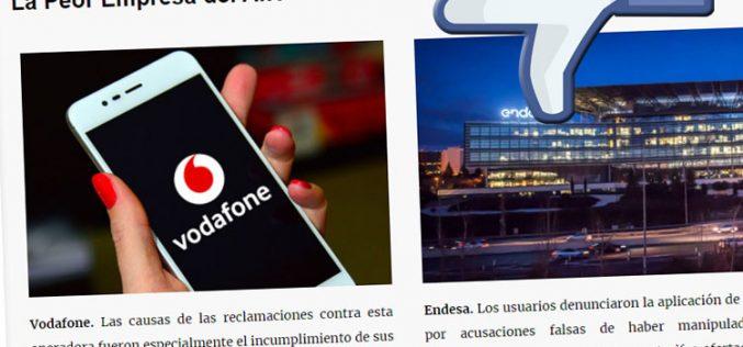 La telefonía móvil, epicentro de las antipremios anuales de Facua